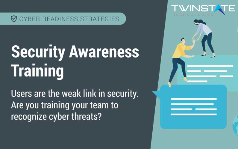 Security Awareness Training -- Are you training your team to recognize cyber threats?