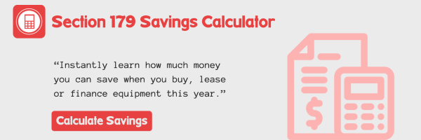 Section 179 Savings Calculator