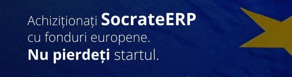 Achiziționați SocrateERP cu fonduri europene
