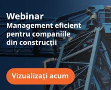 Seminar Online  Management eficient pentru companiile din construcții  Luni, 24 octombrie 2016, ora 12:00