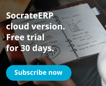 Start a free trial and find how big companies in agribusiness manage their activity with SocrateClod