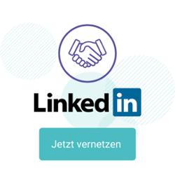 Linkedin Button vernetzen