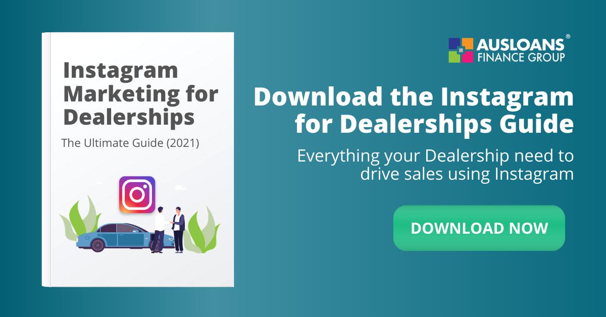 Instagram marketing for auto dealerships