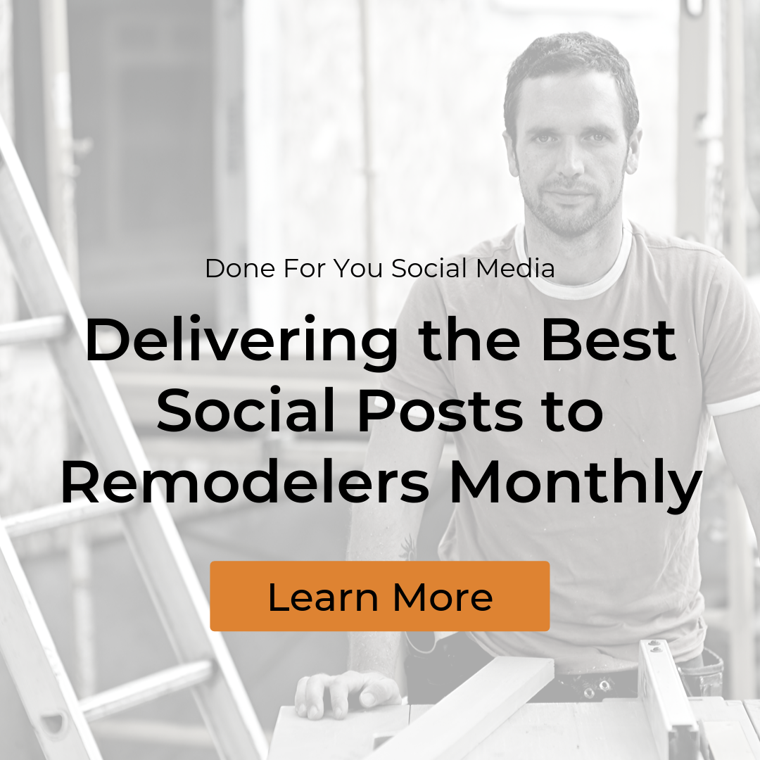 Social Media for Remodelers