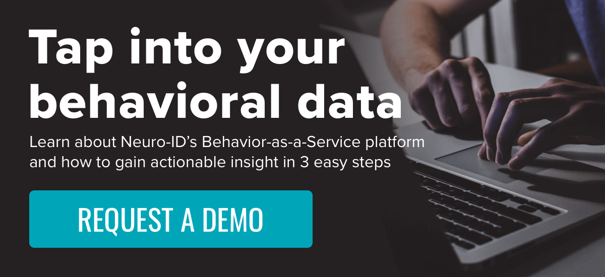 Tap into your behavioral data