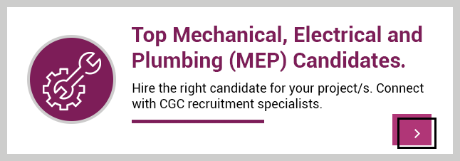 Top mechanical, electrical and plumbing candidates
