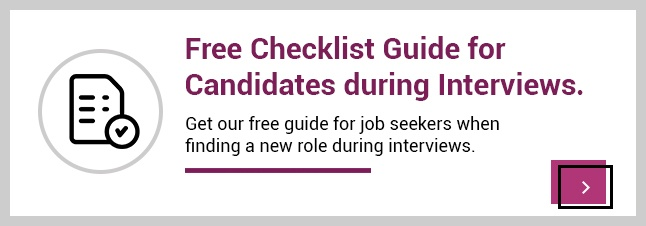 Free checklist guide for candidates and job seekers during interviews