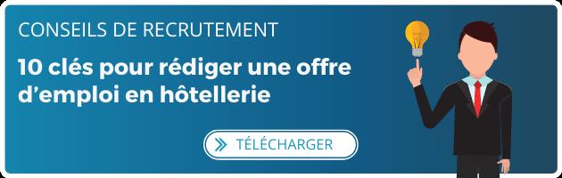 Banner FR 10 clés pour rédiger une offre d'emploi en hôtellerie