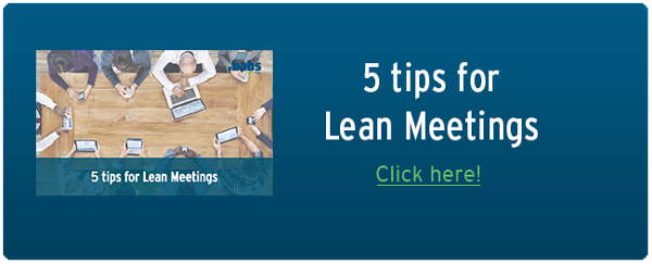5 tips for lean meetings