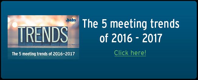 meeting trends of 2016-2017