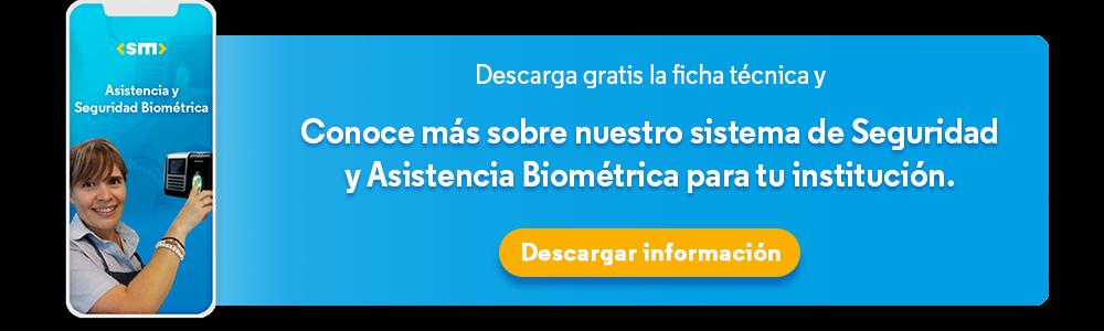 seguridad y asistencia biometrica