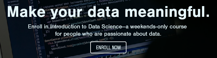 Enroll in Introduction to Data Science