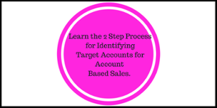 Account based sales process