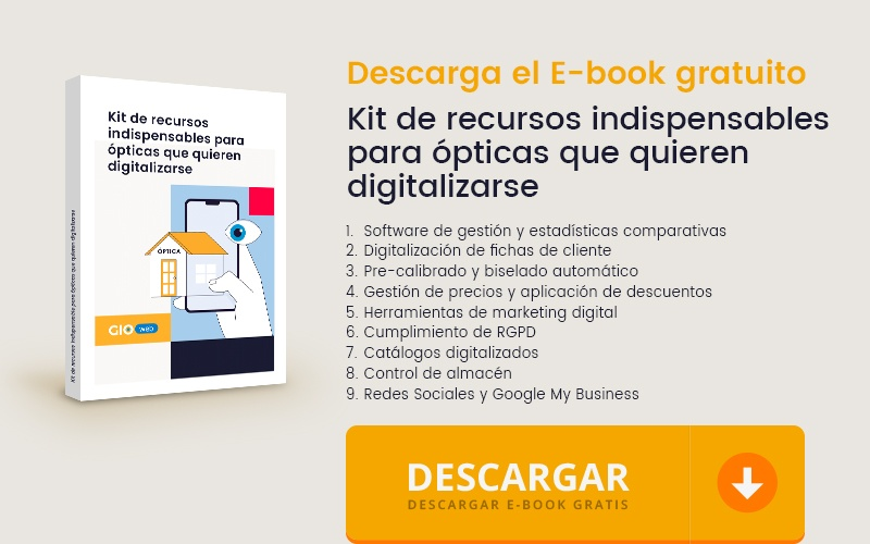 Kit de recursos indispensables para ópticas que quieren digitalizarse