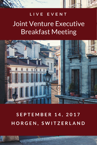Joint Venture Executive Breakfast Meeting
