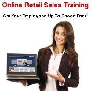 retail sales training-online training course