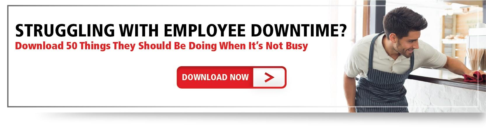 Snag Your Copy Of 50 Things Employees Should Do When It's Not Busy