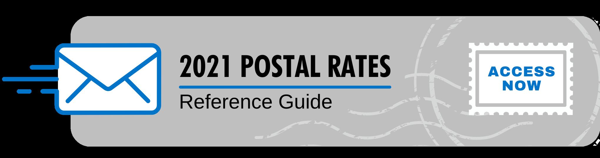 UnitedGMG - 2021 Postal rates