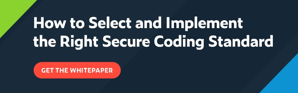 How to Select and Implement the Right Secure Coding Standard