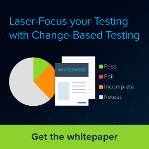 Laser-Focus your Testing with Change-Based Testing