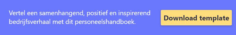 Download gratis deze template voor jouw personeelshandboek!