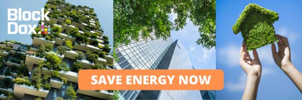Energy saving, Blockdox, Saving Money, smart buildings, carbon foortprint