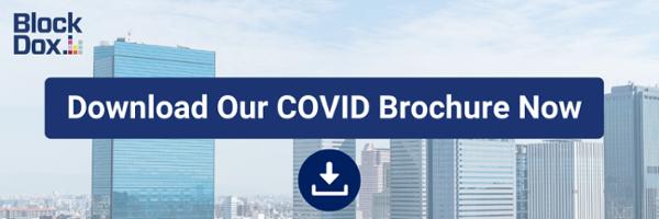 COVID-19 brochure, solution,