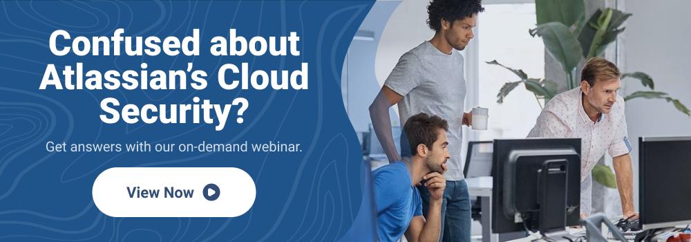 Atlassian Cloud Security
