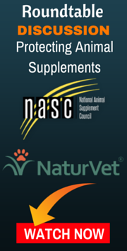 protecting animal supplements webinar