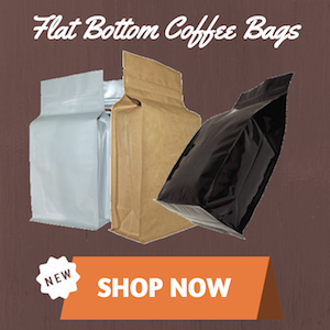flat bottom flexible coffee bags