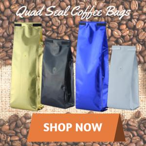 quad seal coffee bags
