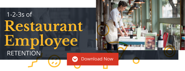 The 1-2-3s of Restaurant Employee Retention Tip Sheet