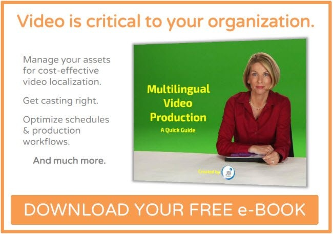 Button to click to download JBI Studio's Multilingual Video Production Quick Guide.