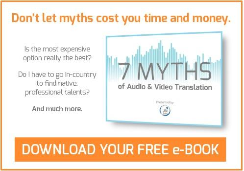 "Download ""7 Myths of Audio & Video Translation,"" JBI Studios' indispensable guide to audio translation and dubbing."