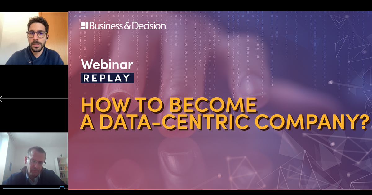 """Thumbnail for """"How to become a Data-Centric Company"""" webinar replay"""