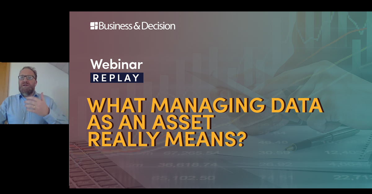 """Thumbnail for """"What managing data as an asset really means"""" webinar replay"""