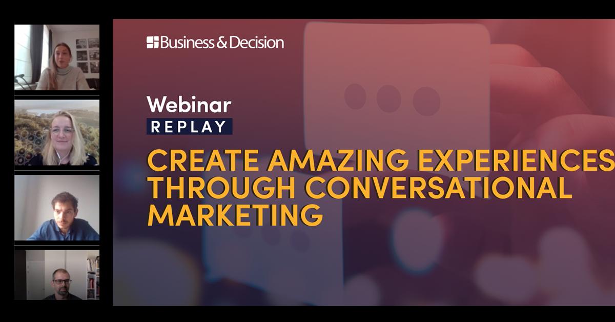 "Thumbnail for ""Conversational Marketing"" webinar replay"