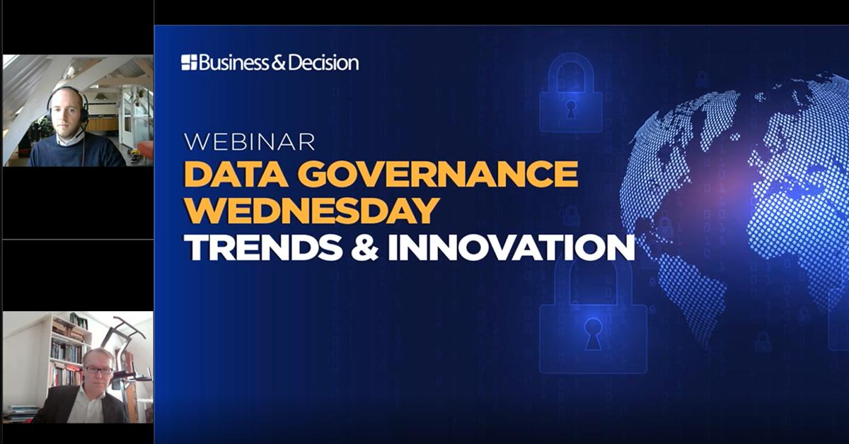 """Thumbnail for """"Trends & Innovation in Data Governance"""" webinar replay"""