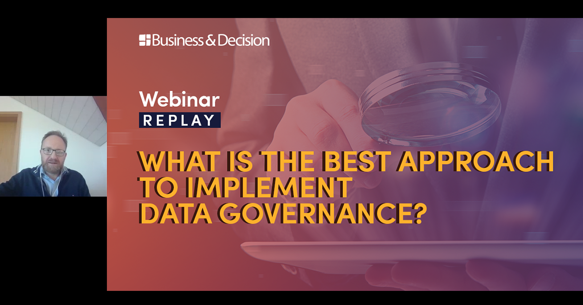 """Thumbnail for """"What is the best approach to implement DataGov"""" webinar replay"""