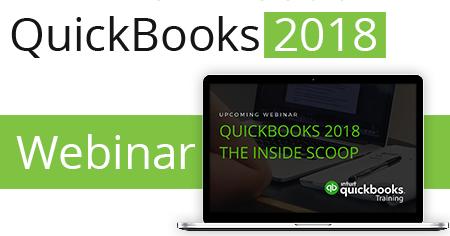 QuickBooks 2018 Webinar