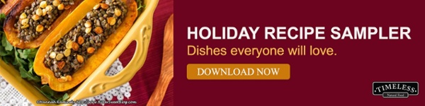 Download our holiday recipe sampler!