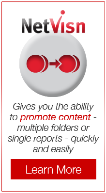 netvisn gives you the ability to promote content - multiple folders or single reports - quickly and easily learn more
