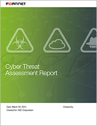Download a Sample Cyber Threat Assessment Report
