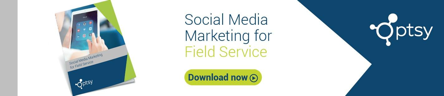 social media marketing for field service download