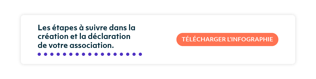 Télécharger l'infographie Création d'une association