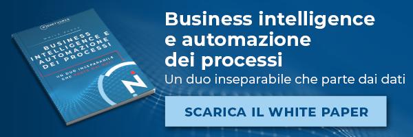 Clicca qui per scaricare il White Paper - Business Intelligence e automazione dei processi