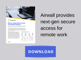 Download Airwall Secure Access solution brief