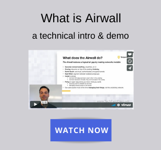 What is Airwall - a technical introduction and demo