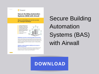 Secure Building Automation Systems (BAS) with Airwall
