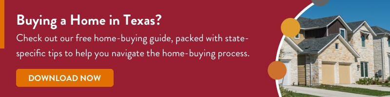 Texas Home buying guide